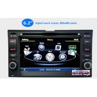 Quality 6.2'' Car Stereo GPS Headunit Multimedia DVD Player forKIA Sportage Cerato Carnival Sorent for sale
