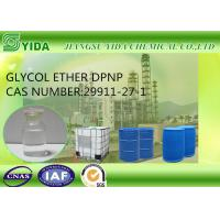 Quality Slow Evaporating Solvent Glycol Ether DPNP Cas No 29911-27-1 With 11.4 Viscosity for sale