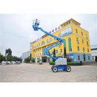 Quality 5.54*1.75*2.0M Telescopic Boom Lift , Crawler Boom Lift 6500KG Weight Durable for sale