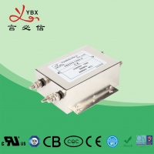 Quality CE ROHS CQC Standard EMI EMC Filter , AC EMI RFI Power Line Filter for sale