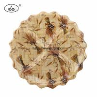 Quality China Plate for Bamboo/Dessert/Fruit/Food/Sanck/Nuts/Daily Use/Tableware/Table Decoration/ for sale