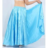 Quality Custom long style performing satin belly dance skirt  for Lady for sale