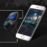 Quality Hotsale Bluetooth FM Transmitter 5V 2.1A Wireless In-Car FM Transmitter Radio Adapter Car Kit  Car MP3 for sale