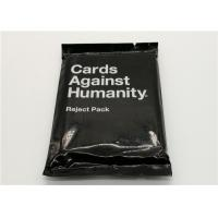 Quality Paper Material Cards Against Humanity Reject Pack For Horrible People for sale