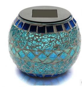 China Decorative Solar Mosaic Light solar powered garden lights on sale