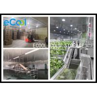 Buy Polyurethane Panel Multipurpose Cold Storage For Vegetable Environment Protective at wholesale prices