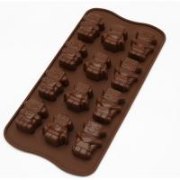 Quality Professional Sweet Flexible Silicone Chocolate Molds For Chocolate Making for sale