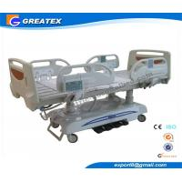 China Detachable Seven Function Electric Hospital Bed With Romote Control and ABS Head Board on sale