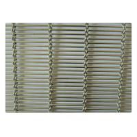 Quality Stainless Steel Architecture Facade Woven Metal Mesh For Building Plain Weave Style for sale