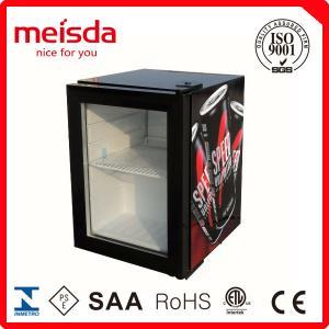 China 21L Compressor Cooling Mini Glass Single Door Counter Top Beer Bottle Juice Cold Drink Display Beverage Showcase Cooler on sale
