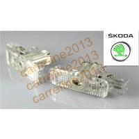 Quality New LED Welcome Projector Logo Ghost Shadow Car Door light/lamp for Skoda Fabia Octavia for sale