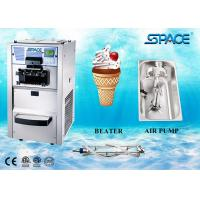 Automatic 3 Flavors Small Commercial Soft Serve Ice Cream Machine Countertop