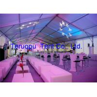 Quality Professional Outdoor Events Clear Span Structure Tents 2000 Person Big Capacity for sale