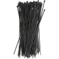 Quality Plastic Tie Straps Releasable Nylon Cable Ties 200mm For Bunching Electric Cables for sale