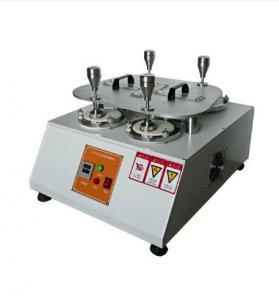 Fabric Martindale Abrasion Testing Machine , Martindale Abrasion Measurement Equipment , Martindale Testing Equipment