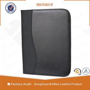 Quality BWA-36 leather portfolio folder / leather executive folder for sale