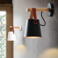 Buy cheap Wood Wall Lamps Modern Nordic Style E27 wall wood lights (WH-RC-03) from wholesalers