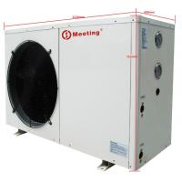 Quality 12KW Electric Air Source Heat Pump Galvanized Steel Sheet Compact Structure for sale