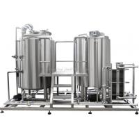 Quality Automatic Dairy Production Line / Yogurt Making Machine With High Speed Emulsification Tank for sale