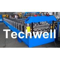 Quality Standard 686mm IBR Sheet Roll Forming Machine With PLC Control System for sale