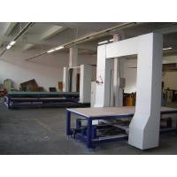 Quality Vertical Wire CNC Contour Cutting Machine For Rock Wool , Fireproof Panel Cutting for sale