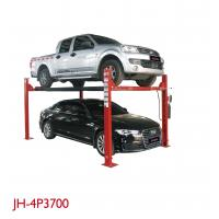 Quality Alarm Ring Four Post Vehicle Lift High Performance Total Length 5230mm for sale