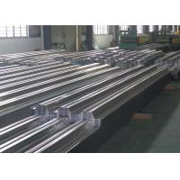 Quality Building Material Corrugated Steel Sheet Zinc Coating Chromate Surface Custom Length for sale
