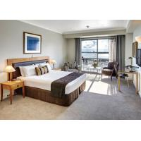 Quality 5 Star Commercial Hotel Furniture / White Bedroom Furniture Sets for sale