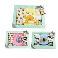 China 9pcs Infant Clothes Set Gift Items , Unisex Newborn Baby Clothes Set OEM Service on sale