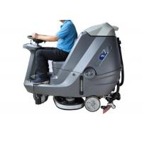 Quality Automatic Ride On Sweeper Scrubber , Factory Stone Floor Cleaner Machine for sale