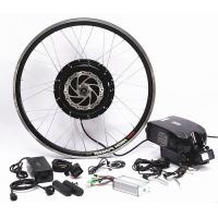 Quality 750w 1000w Front Wheel Electric Bicycle Motor Conversion Kit With Downtube Battery for sale