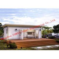 Quality Lightweight 40ft Prefab Container House For Living Accommodation With Painted Surface for sale