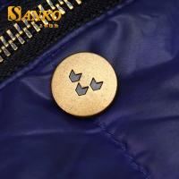 Quality customized zinc alloy snap button in anti brass color in high quality for sale