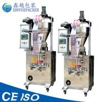 China Fully Automatic Sauce Packaging Machine , Mechanical Driving Sauce Pouch Packing Machine on sale