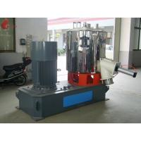800L 110Kw Stainless Steel High Speed Mixer for PVC Plastic , 1000 - 1250 Kg/Hour