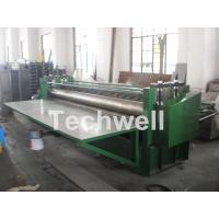 Quality G550Mpa 0.18mm Cold Roll Forming Machine , Glazed Tile Roll Forming Machine for sale