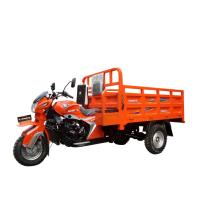 China 4 Stroke Three Wheel Cargo Motorcycle / 200CC Cargo Tricycle RWD Drive. on sale