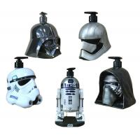 Metal Color Star War Movie Solders Plastic Cartoon Shampoo Bottle Use For Home Storage Liquid