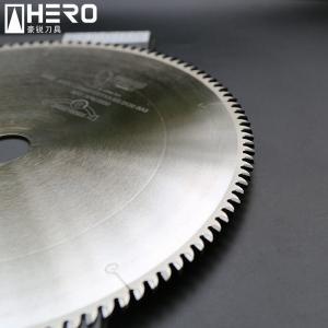 Quality Multifunctional Tct Circular Saw Blade , Sheet Metal Circular Saw Blade Bur Free for sale