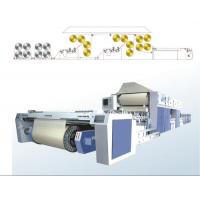 Buy Textile Weaving Machine , Sizing Machine With Four Squeezing at wholesale prices