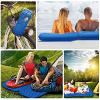 Quality Ultralight Sleeping Pad - Ultra-Compact Camping Sleeping Pad with Pillow Air Sleeping Mattress for a Better Camp(HT1607) for sale