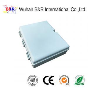 Quality White Grey 32 Cores IP65 Fiber Optic Distribution Box for sale
