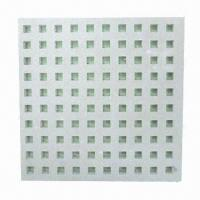 Quality PVC Gypsum Ceiling Board with >160N Strength, Sunken- and Moisture-proof, Eco-friendly for sale