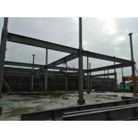 Quality 3 Floors Steel Frame Office Building / Residential House Resistant 8-9 Earthquake Grade for sale