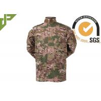 Multicam Army Camouflage Clothing Uniform For Tactical Security / Military