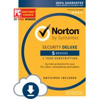China Norton Security Deluxe - 5 Device Computer Virus Protection Software Download Code on sale