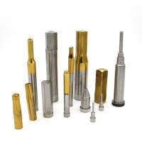 Buy ISO9001 Approved HSS Punches Precision Punch Pins With Tin/TiALN Coated at wholesale prices