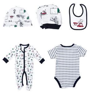 China Cotton Newborn Baby Clothes Set , Unisex Newborn Baby Clothes Gift Set on sale