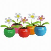Quality Flip Flap Solar Flower, Suitable for Promotional Gift Purposes for sale