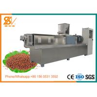 Quality Double Screw Floating Fish Feed Extruder Machine Stainless steel 304 Material for sale